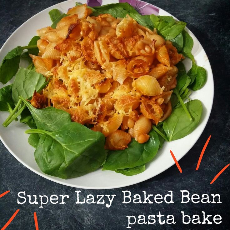 Baked Bean Pasta Bake