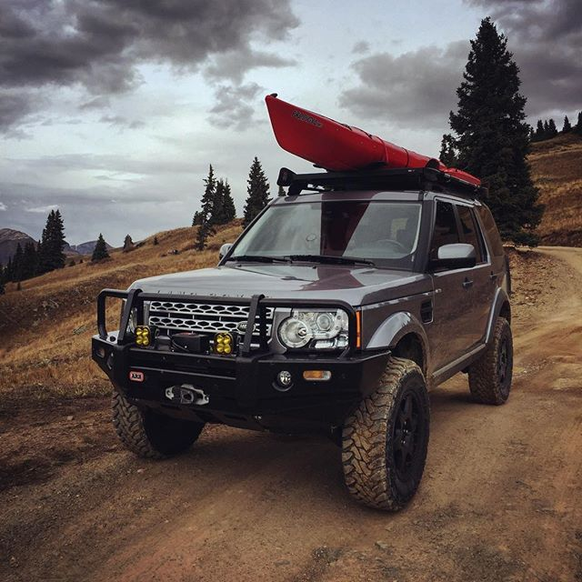 Discovery LR4. May do this next.