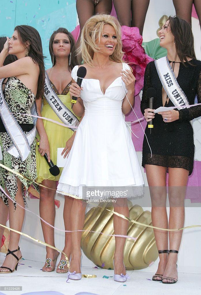 Shelley Hennig Miss Teen USA 2004, Pamela Anderson and Natalie Glebova Miss…Love Pam's dress here.