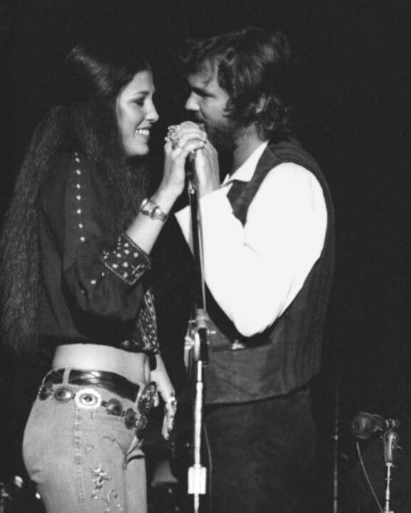 Rita Coolidge and Kris Kristopherson