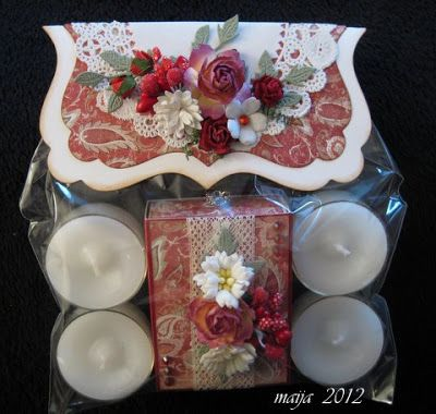 4 candles and candlesticks