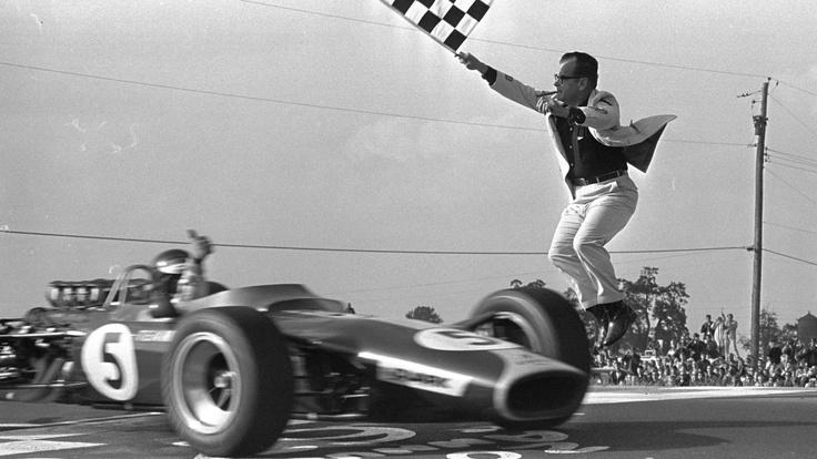 Jimmy Clark, Lotus, victory!