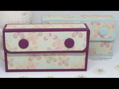 Pocket Tissue Purse made with the NEW Falling in Love DSP - YouTube