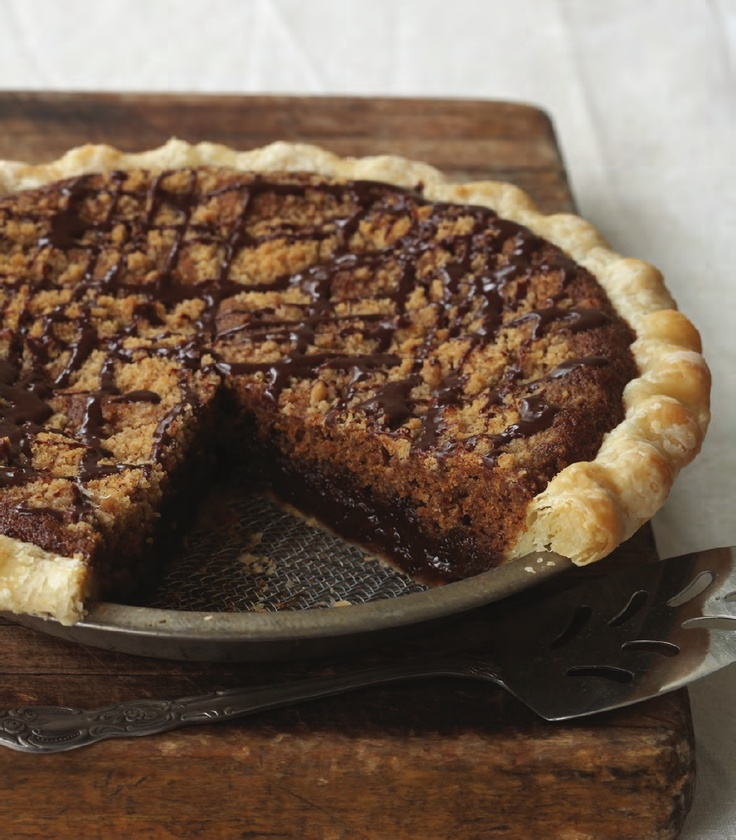 Shoofly Pie from Mrs. Rowe's Little Book of Southern Pies by Mollie Cox Bryan