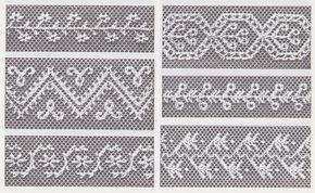 Cordón neto bordado bordado en tul y red por por BuzzyVintage