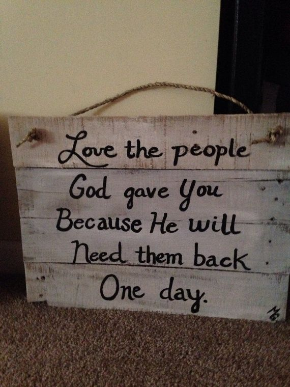 Whitewashed pallet sign by JunkifiedTreasures on Etsy