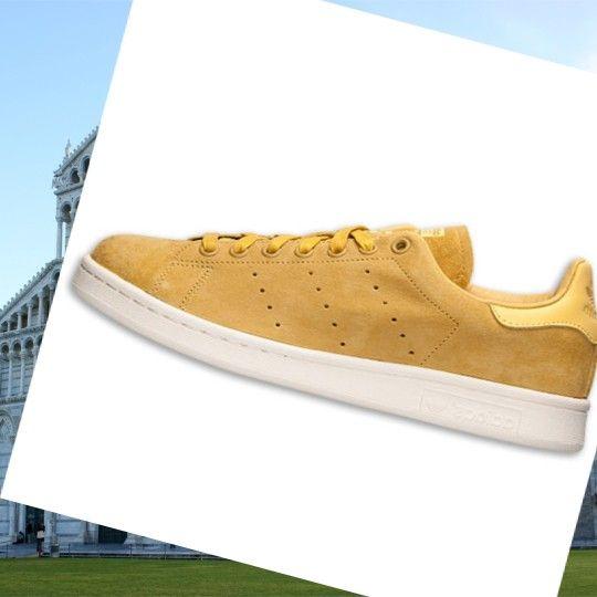 Scarpe da Tennis Adidas Uomo Stan Smith Giallo