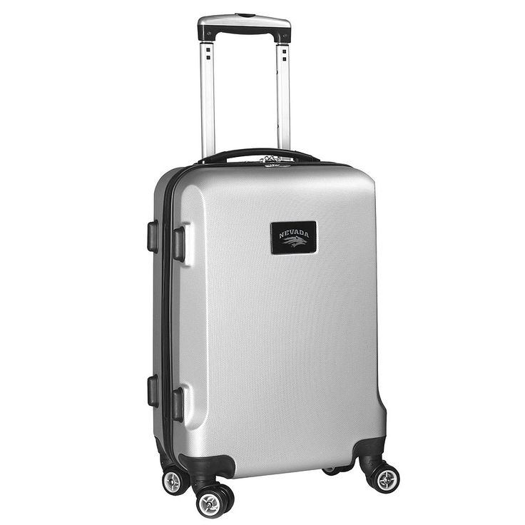 Nevada Wolf Pack 19 1/2-in. Hardside Spinner Carry-On, Silver
