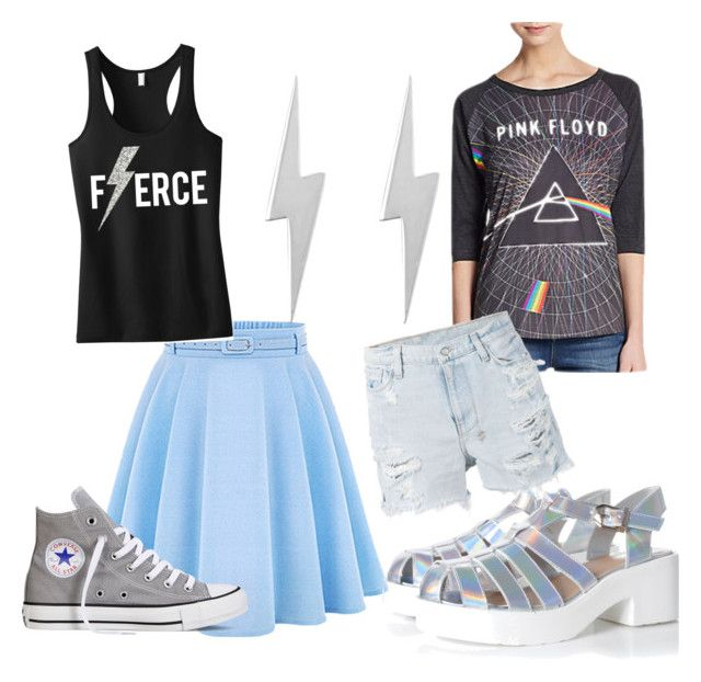 """""""(Feminine) Peter Maximoff/Quicksilver"""" by silvermutant ❤ liked on Polyvore featuring Edge Only, Glamorous, Converse, Dirty Cotton Scoundrels, Ksubi, quicksilver, daysoffuturepast and PeterMaximoff"""