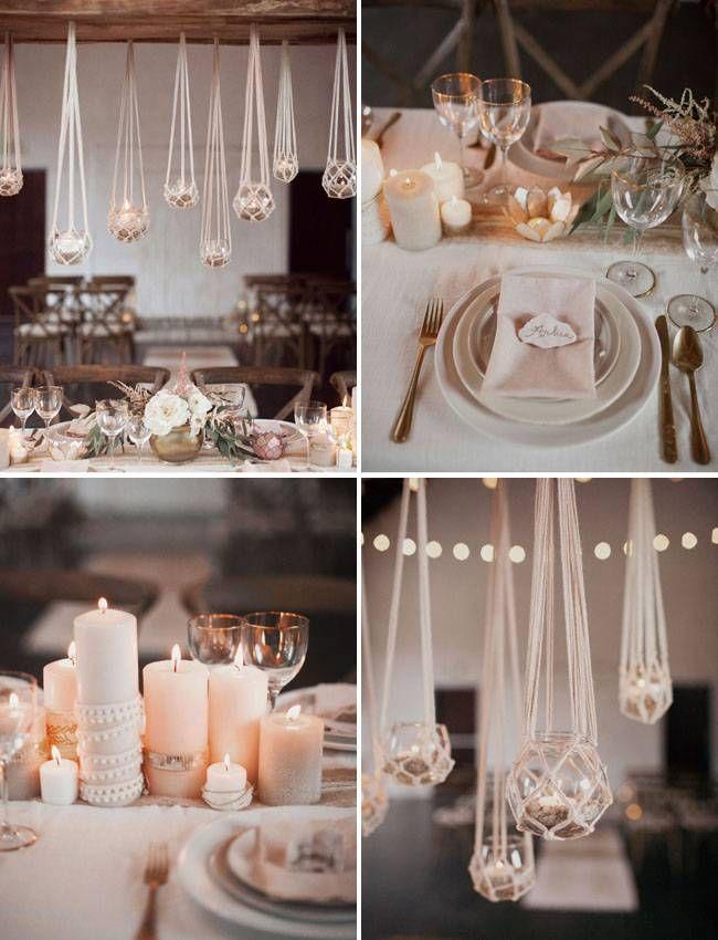 Minimal Macrame Wedding Inspiration   Green Wedding Shoes Wedding Blog   Wedding Trends for Stylish + Creative Brides