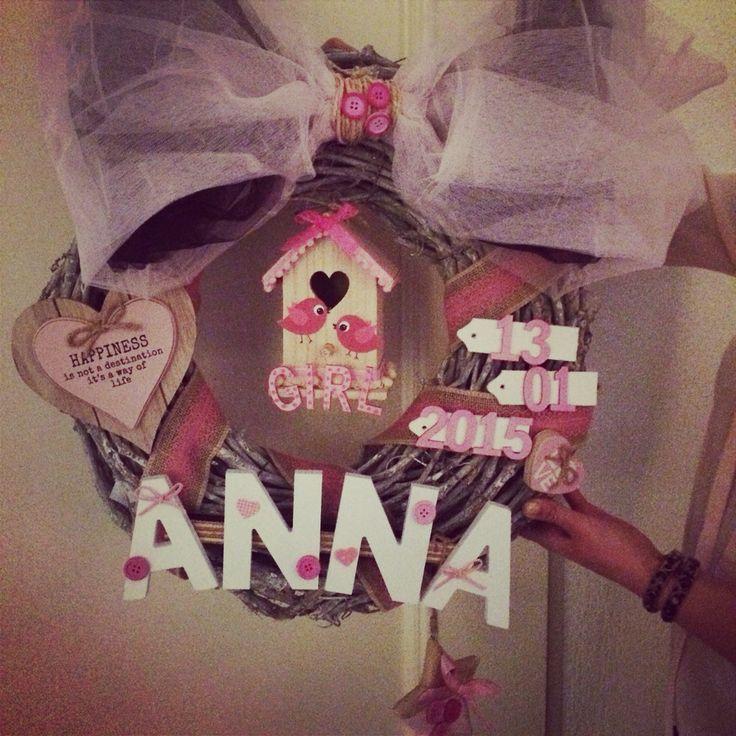Geboortekrans meisje