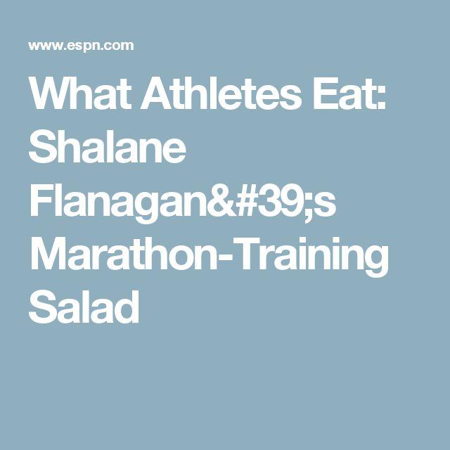 What Athletes Eat: Shalane Flanagan's Marathon-Training Salad