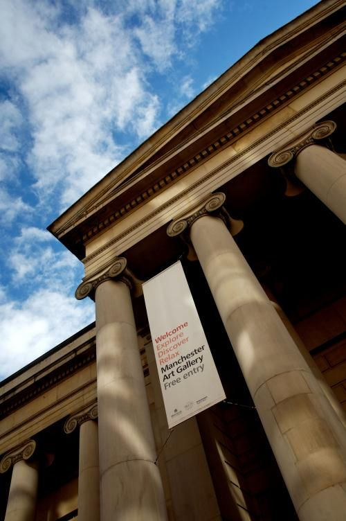 Manchester Art Gallery, Mosley Street.