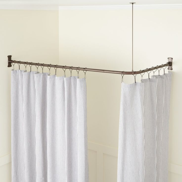 Best 25 Corner rod ideas on Pinterest  Corner curtain