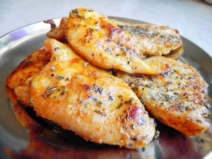Enjoy Your Meal!: 84. Soczysta, pieczona pierś z kurczaka ♡