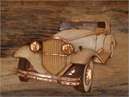 Decorative Wooden Cars