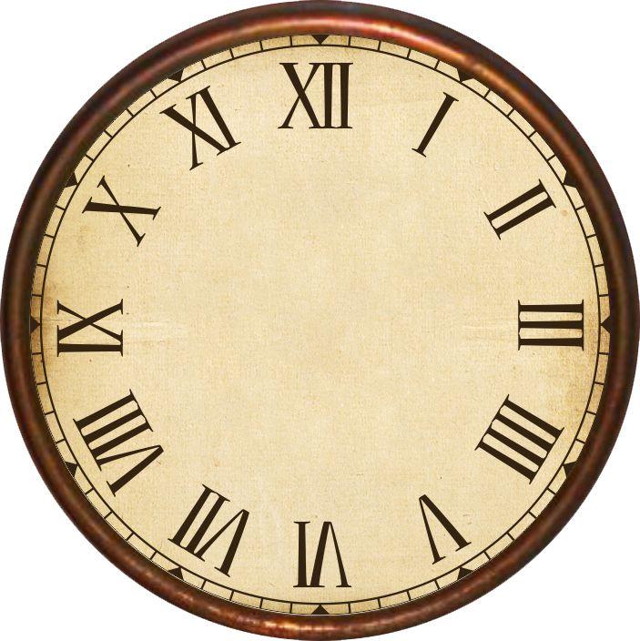 660 Best Clock Face Templates Images On Pinterest