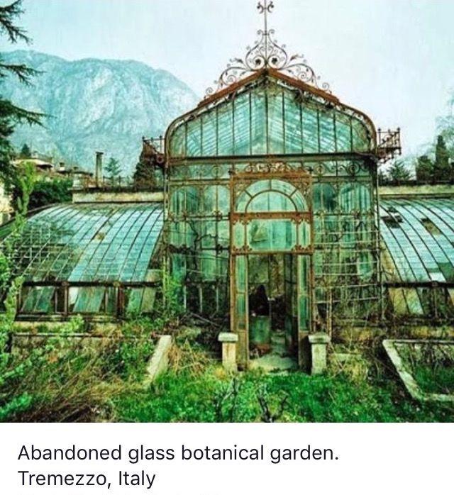 Italian Food Near Me Abandone Building Casa: Abandoned Botanical Garden, Tremezzo, Italy