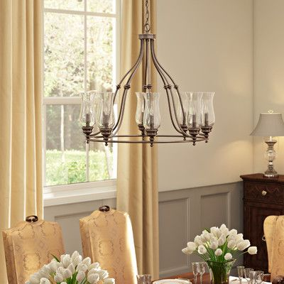 Captivate Dinner Party Guests At The Dining Room Table Or Parlor Seating Group With This Glowing Chandelier Showcasing A Wagon Wheel Silhouette In Deep
