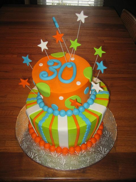 Th Birthday Carrot Cake