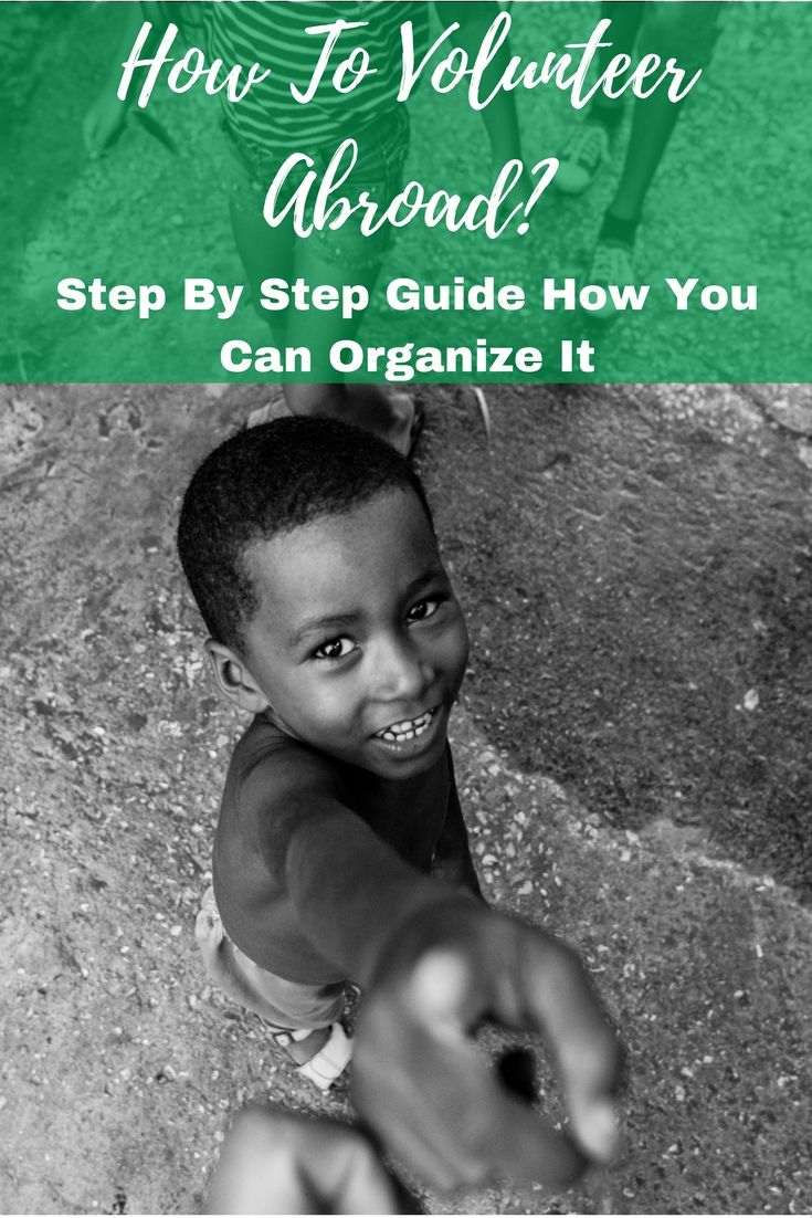 Do you want to volunteer abroad but you don't know how? This guide will help you plan your voluntary work overseas step by step. #volunteering #volunteer #volunteerabroad