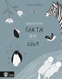 """""""Jag blev lika fascinerad som den storögda femåring jag läste högt för. Verkligen en fantastisk bilderbok med roliga teckningar och förbluffande innehåll."""" Ingalill Mosander, Aftonbladet  Visste du att giraffer kan slicka sina öron?Eller att uttrar håller handen när de ska sova?   Det här och många fler fantastiska fakta om små och stora djur får du lära dig i Maja Säfströms lekfulla och vackert illustrerade bok. Det är lika mycket en rolig bok för barn som en vacker presentbok för..."""