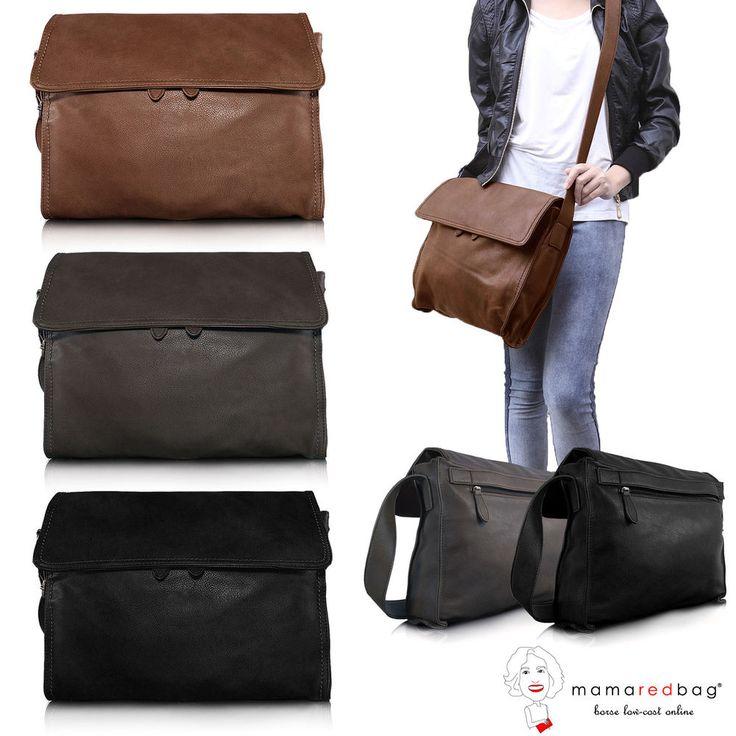 Borsa Donna a Tracolla Cartella Grande da Viaggio Messenger Crossbody Travel Bag