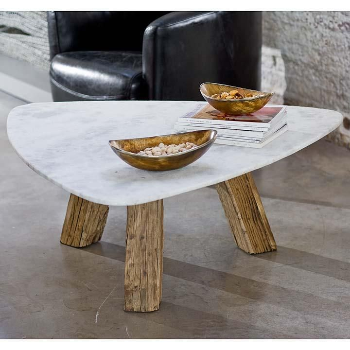 Like the raw wood legs contrasting with the smooth