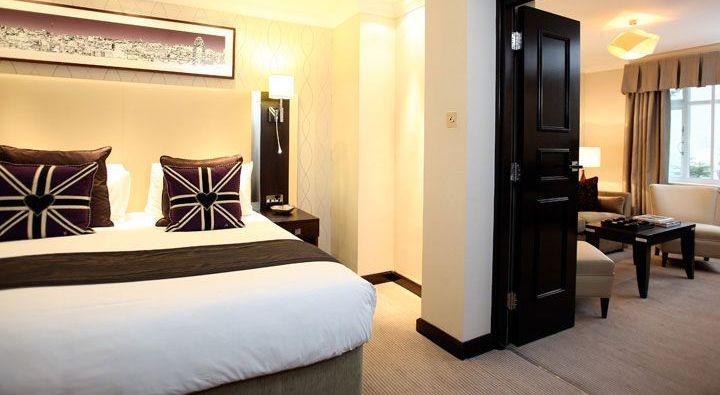 The Kensington Suite at Rydges Kensington London.