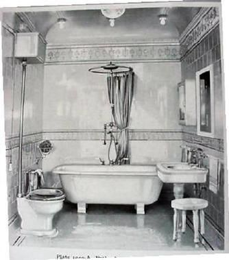 17 Best Images About Rooms With Baths Vintage 20s 30s
