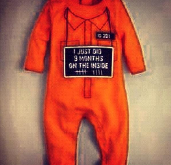 Baby Orange Jumpsuit Breeze Clothing