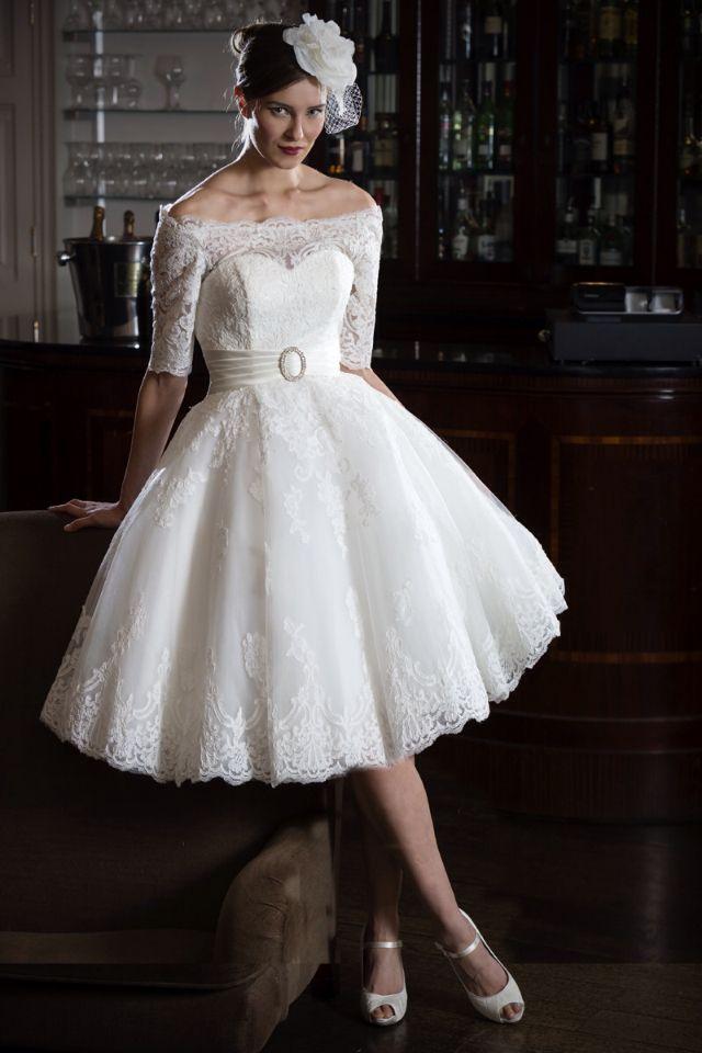 54 best wedding dresses images on pinterest wedding for Nearly new wedding dresses