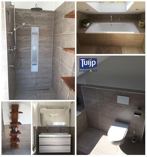 En weer een blik in een zonnige badkamer. Van alle gemakken voorzien. #Ligbad, #sunshower, #douche, #toilet en #badmeubel. En dan te bedenken dat dit een betonnen opbergkamer was, zonder riool en zonder water. Wat vind jij hier van? #Tuijp #Badkamers #Volendam #Purmerend Meer voorbeelden zien? Klik hier: http://tuijpkeukenenbad.nl/badkamers/badkamer-projecten