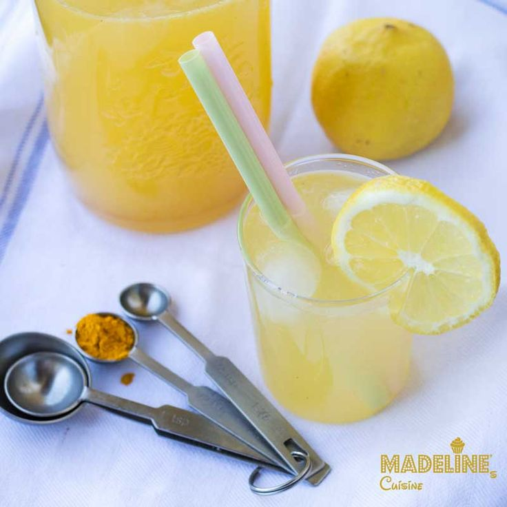 Limonada cu turmeric / Turmeric lemonade