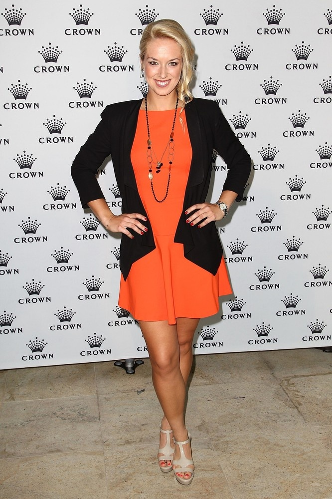 Sabine Lisicki @ Crown's IMG Tennis Player's Party at Crown Towers