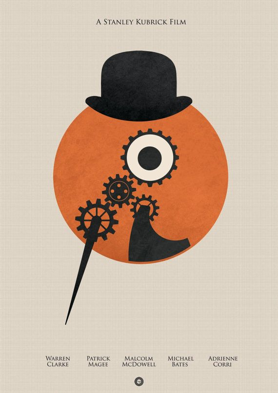 A Clockwork Orange A2 Poster by holdonprints on Etsy