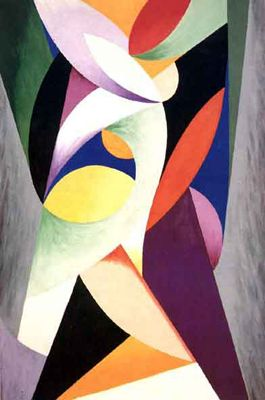 Alberto Magnelli (1888- 1971) was an Italian modern painter who was a significant figure in the post war Concrete art movement.