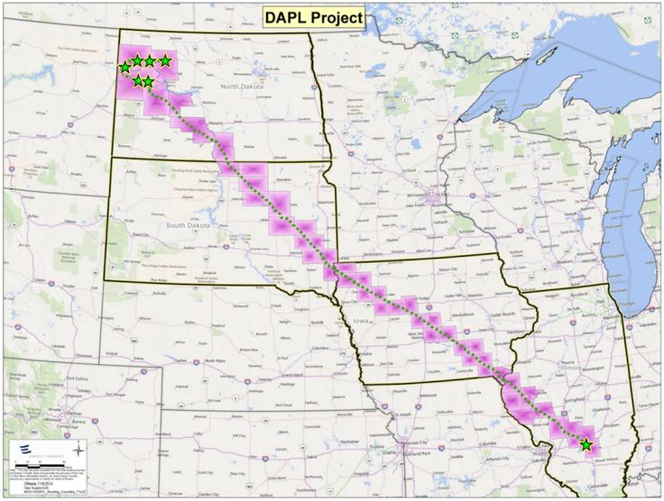 """If finished, the 30-inch underground pipes will stretch 1,172 miles and carry 470,000 barrels of crude oil per day. The US Geological Survey estimates there are 7.4 billion barrels of """"undiscovered, technically recoverable oil"""" at the pipeline's starting point in North Dakota. So the idea is to get that oil out of the ground and to refineries and markets in other parts of the US.   What You Need To Know About The Dakota Oil Pipeline And The Native Americans Trying To Stop It - BuzzFeed News"""