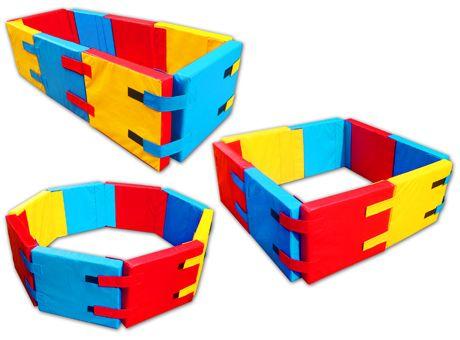 Playmed - Piscina plegable portátil de 08 paneles