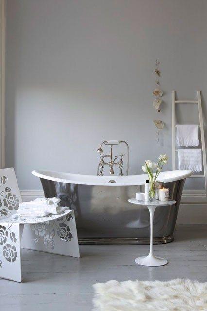 Pale Grey - Bathroom Ideas - Tiles, Furniture & Accessories (houseandgarden.co.uk)