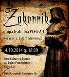 """""""Zakonnik"""" - nowa sztuka teatru PLEG-Art"""