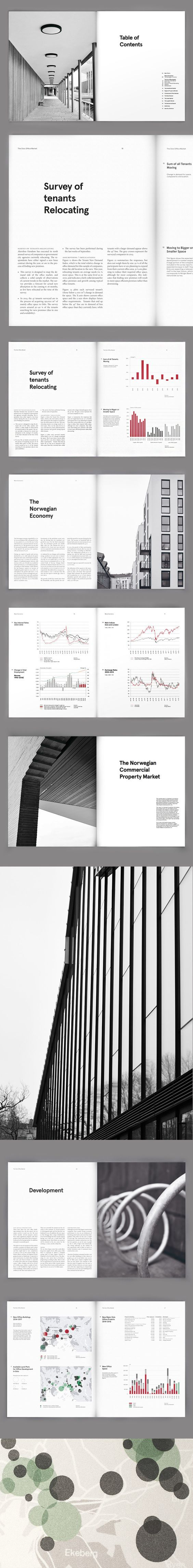 Akershus Eiendom Annual Report Layout Design | Publication and Print Design: