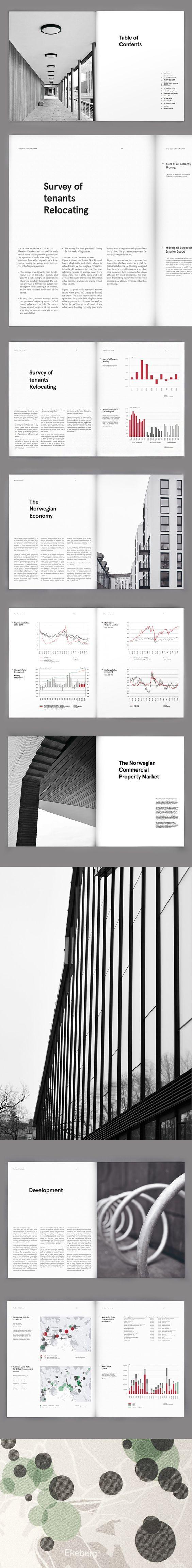 Akershus Eiendom Annual Report Layout Design | Publication and Print Design: