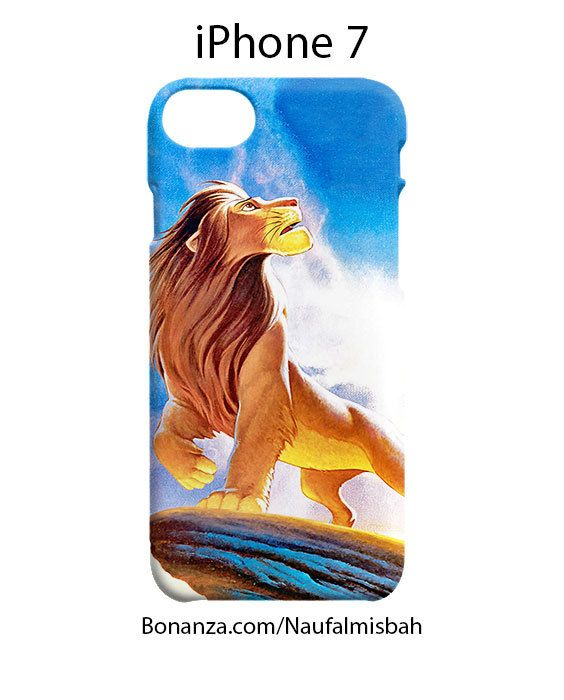 Simba Lion King iPhone 7 Case Cover Wrap Around