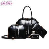Women Casual Totes Shoulder Crossbody Bags+Messenger Bag+Wallet+Purse