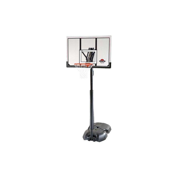Lifetime Front Court 50 Portable Basketball Hoop, Black/Hyper Orange I