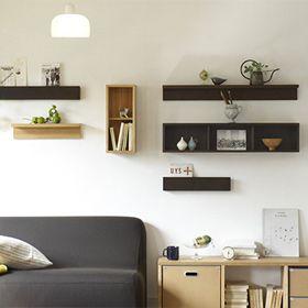 壁に付けられる家具   無印良品ネットストア