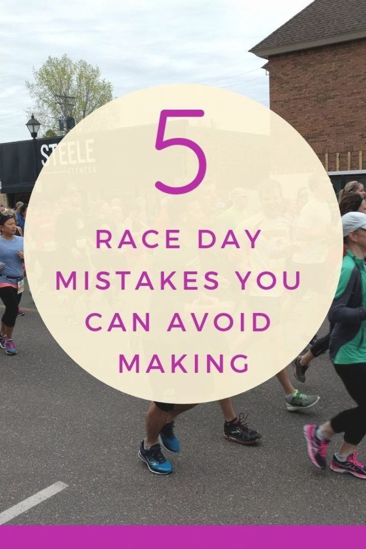 For Me Race Day Is A Stressful Experience So Today I M Sharing Five Common Race Day Mistakes I Ve Almost Made And How They Can Race Day Racing Running Humor
