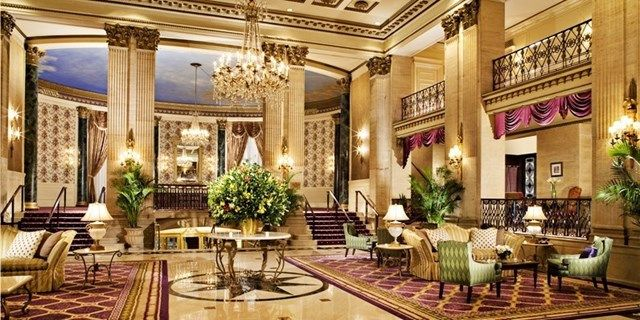 Landmark hotel w/room upgrade and late checkout … $119