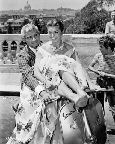 Jeff Chandler & Esther Williams  Such a shame she had to slander him in her biography.